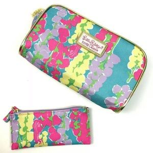 Lilly Pulitzer Estee Lauder Colorful Cosmetic bags
